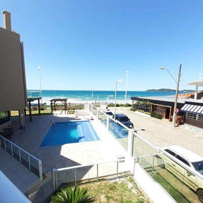 Apartamento 3 dormitórios frente ao mar