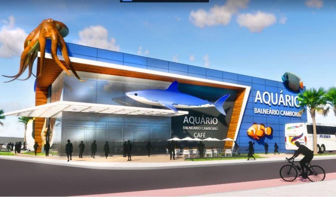 Maior aquário do Sul do Brasil será inaugurado em Outubro deste ano em Balneário Camboriú.