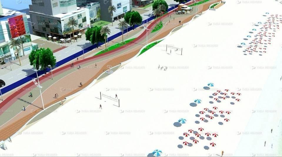FATMA concede licença para alargamento da faixa de areia de Balneário Camboriú