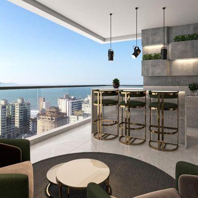 Apartamento - Lançamento - Ed. Sea's Garden Residence - Centro - Itapema
