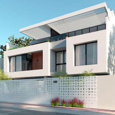 Linda Casa na quadra do mar - Barra sul - Balneário Camboriú