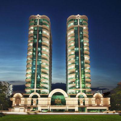 Piazza San Marco - Apartamento na planta com 03 suítes para a venda em Meia Praia.