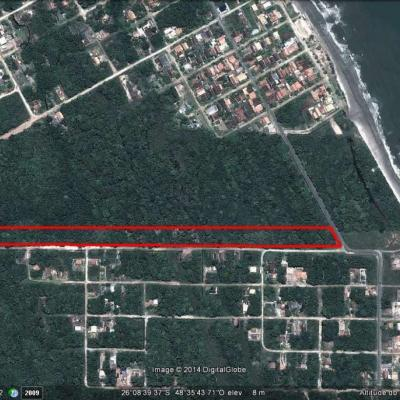 Terreno Área comercial/residencial em Itapoá-SC