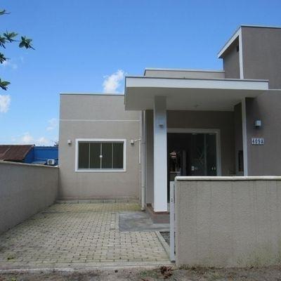 Casa nova c/ 2 quartos e 57,91m², no Balneário Recanto do Farol