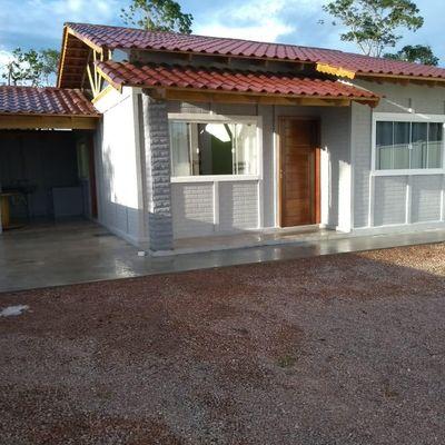 Casa Mobiliada p/ locação mensal, c/ 01 suíte + 01 quarto - Balneário Mariluz