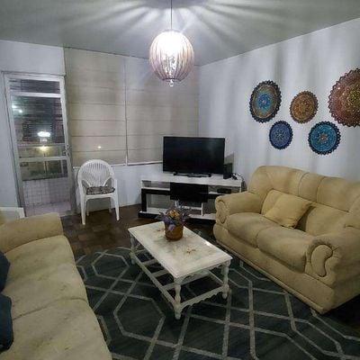 Apartamento a poucos metros do mar, Centro com 3 dorm, suite e garagem
