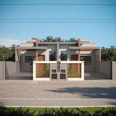 Casa geminada no bairro Espinheiros/ Santa Regina em Itajaí SC