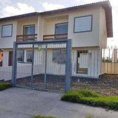 Sobrado Com 3 Dormitórios à Venda, 95 M² Por R$ 295.000,00 - Bela Vista - Alvorada/rs
