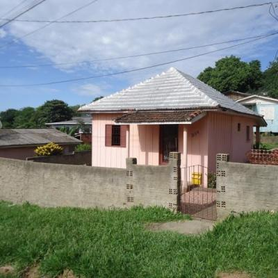 Casa Mista Com 2 Dormitórios à Venda Por R$ 100.000 - Nossa Senhora Aparecida - Viamão/rs