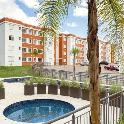 Apartamento Com 2 Dormitórios à Venda Por R$ 180.000 - Santa Isabel - Viamão/rs