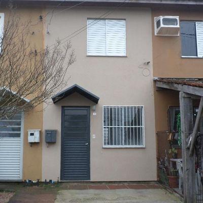 Sobrado Com 2 Dormitórios Para Alugar Por R$ 600,00/mês - Cecília - Viamão/rs