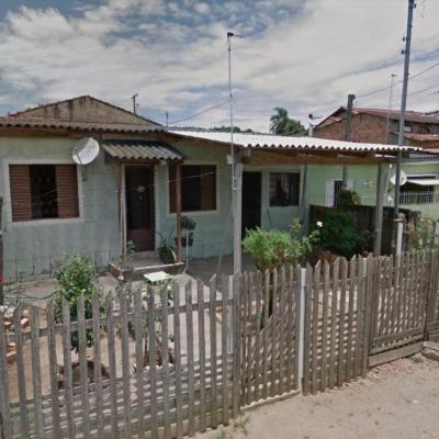 Casa Com 2 Dormitórios à Venda Por R$ 60.000,00 - Parque índio Jari - Viamão/rs