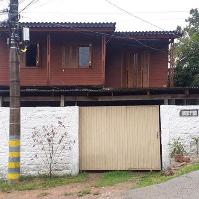 Casa Mista Com 2 Dormitórios Cada à Venda, 120 M² Por R$ 90.000 - Santa Cecília - Viamão/rs