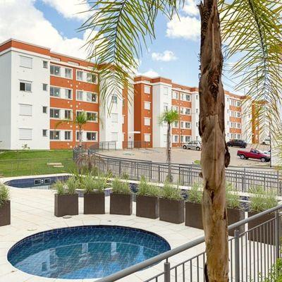 Apartamento Com 2 Dormitórios Para Alugar Por R$ 1.200,00/mês - Santa Isabel - Viamão/rs
