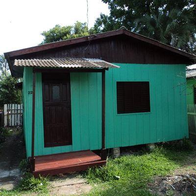 Casa Com 2 Dormitórios Para Alugar Por R$ 550,00/mês - Santa Isabel - Viamão/rs