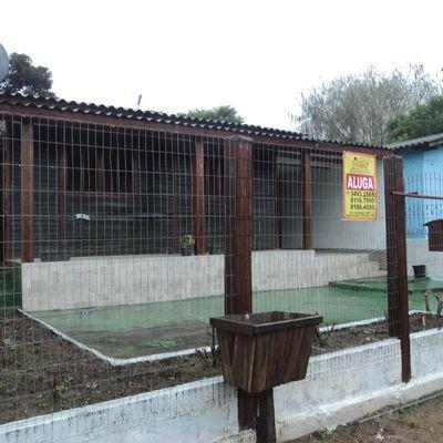 Casa Com 3 Dormitórios Para Alugar Por R$ 850,00/mês - Santa Isabel - Viamão/rs