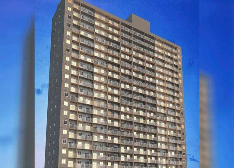 Plano e estação Belém   Apartamento com 1 dormitório   Rua Júlio de Castilhos, 248 - Belém