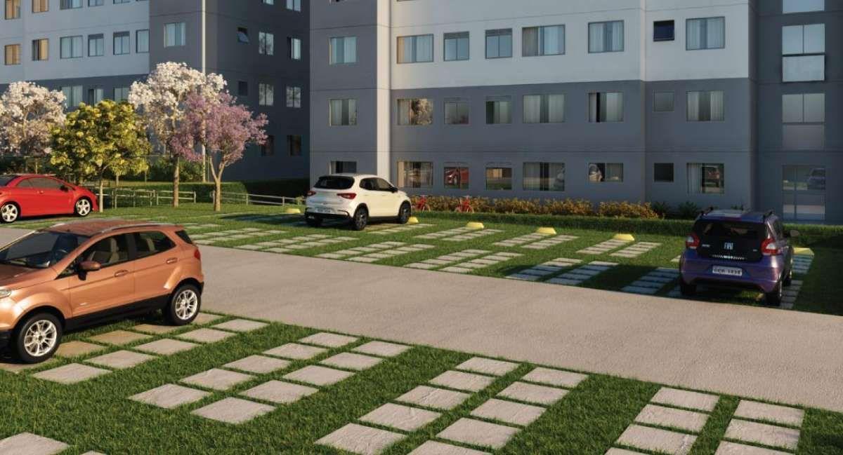Vivere Tenda   Apartamentos de 2 Dormitórios   Casa Verde e Amarela