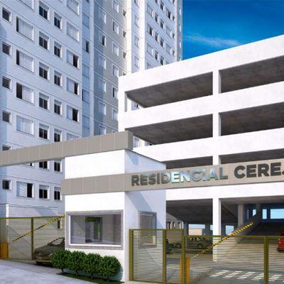 Residencial Cerejeiras MRV   Apartamentos de 2 Dormitórios   Casa Verde e Amarela