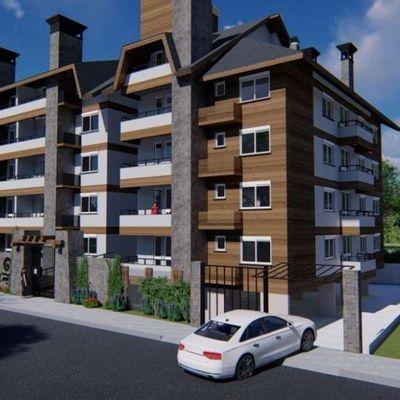 Apartamento para Venda em Canela, Loteamento Remanço, 2 dormitórios, 1 suíte, 3 banheiros, 1 vaga