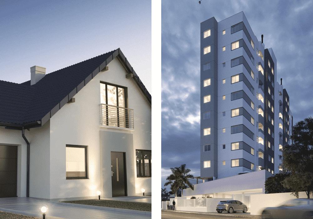 Casa ou apartamento: prós e contras e qual o melhor para você