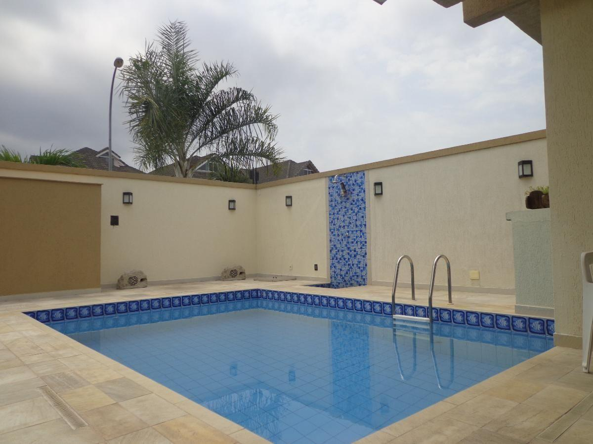 Casa triplex estilo contemporâneo com 3 quartos 3 suítes gleba A - Parc des Palmiers - Recreio
