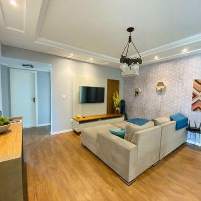 Apartamento com 01 suíte + 02 quartos no bairro Rau!