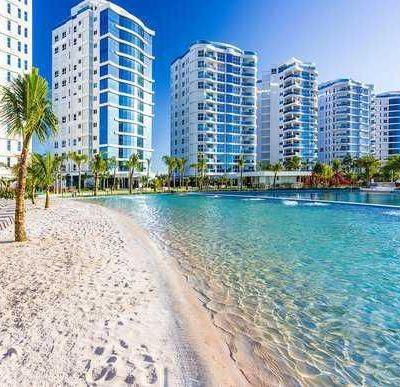 Brava Home Apartamento Para Venda Na Praia Brava/itajaí Com 03 Suítes + 01 Quarto 02 Vagas - Excelente área de Lazer Com Piscina e Churrasqueira