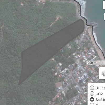 Terreno frente mar Cabeçudas