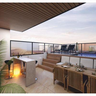 Apartamento à venda em Balneário Camboriú com 3 Suítes e 2 Vagas de Garagem