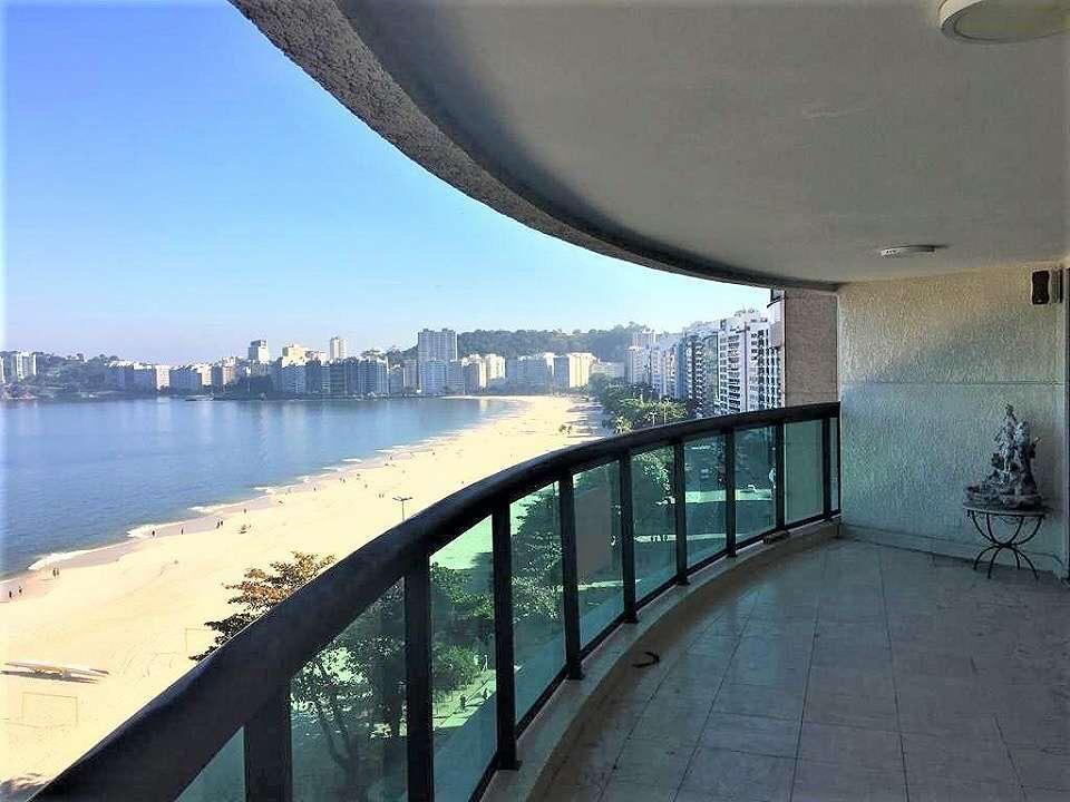 Apartamento com vista espetacular na praia de Icaraí