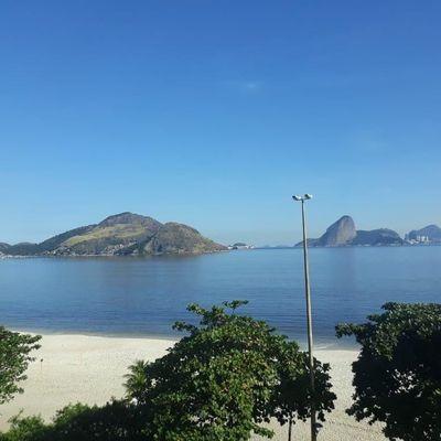 Espetacular Vista Mar 4 suítes na Praia de Icaraí