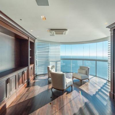 Cobertura Duplex Frente Mar 6 Suítes Ocean Palace Residence Centro Balneário Camboriú