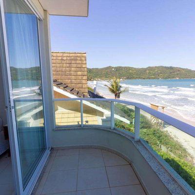 Casa Frente mar em Canto Grande (mar de fora) - Duplex A